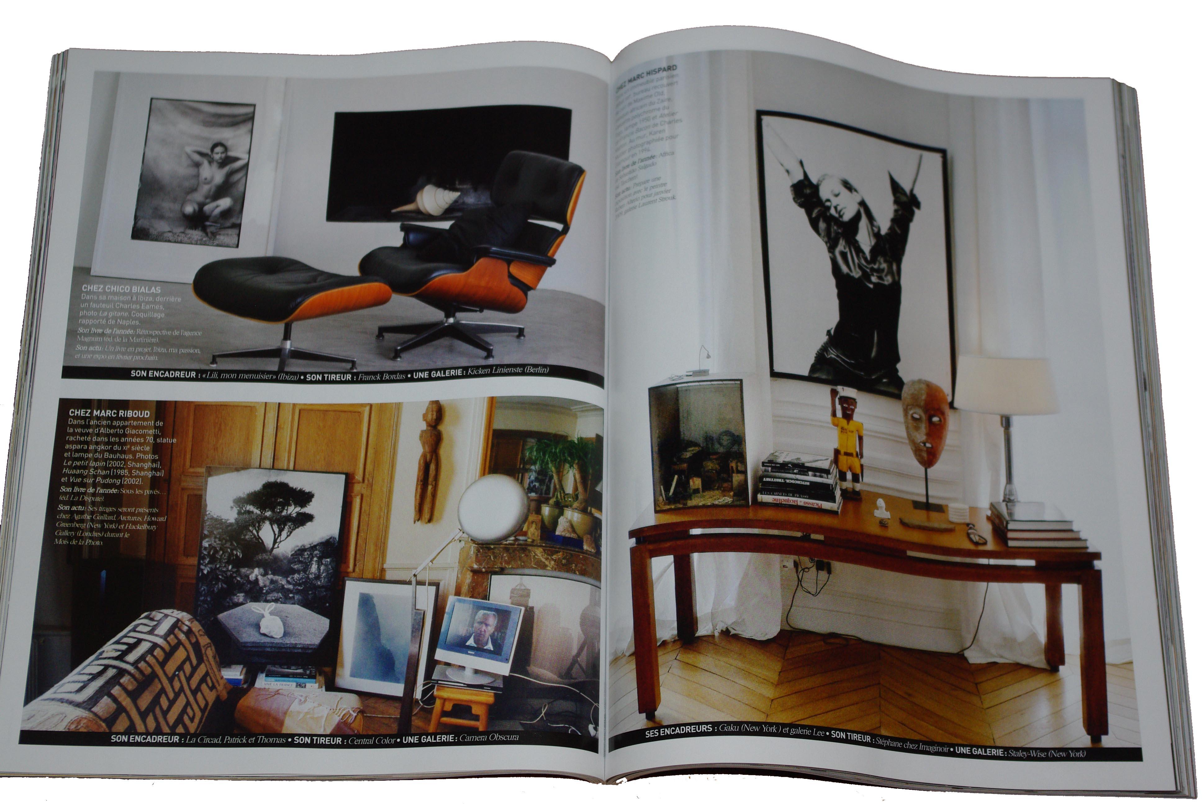 maison francaise p122 1231 Comment les photographes accrochent leurs photos chez eux ?