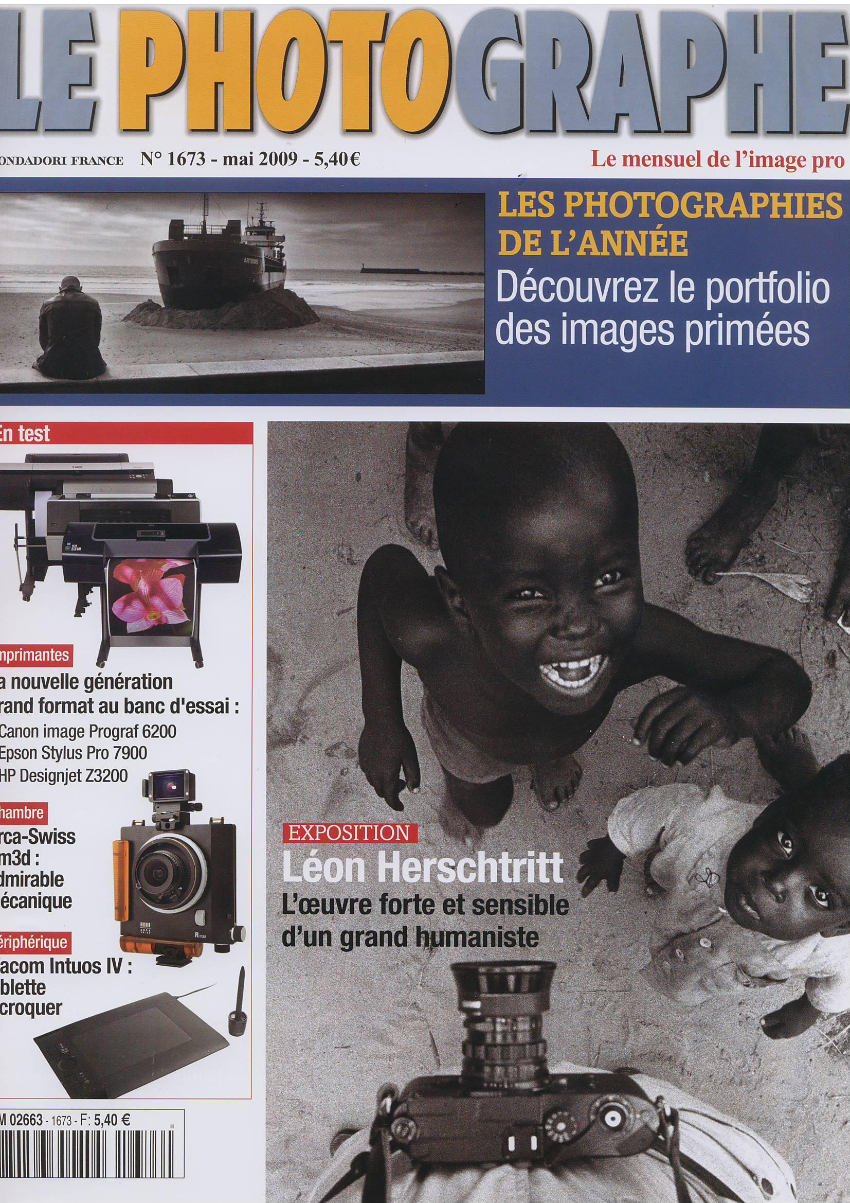 couverture le photographe mai 2009 Article mabellephoto.com dans le magazine Le Photographe