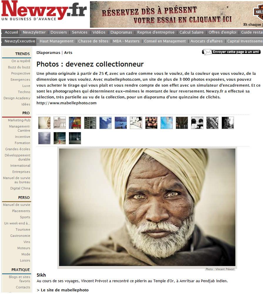 newzy Découvrez la sélection faite par Newzy.fr des photos du site qui les ont touchés