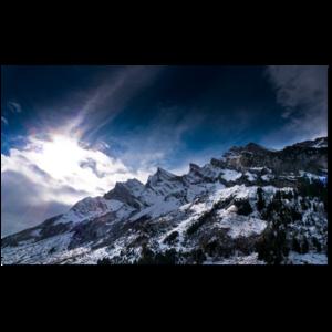 les alpes par loick clermonte Découvrez la sélection des photographes mabellephoto.com du mois d'août