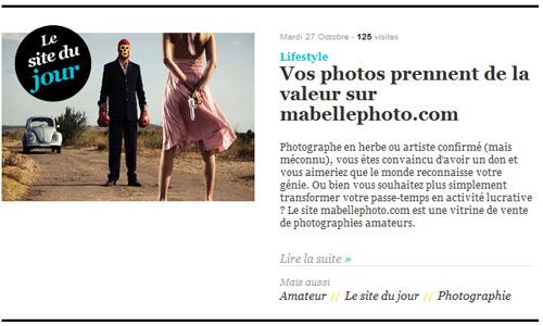 """site du jour grazia Retrouvez mabellephoto.com élu """"site du jour"""" sur Grazia.fr"""