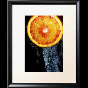 orange sous la douche fruits par thomas petaut Découvrez la sélection des photographes mabellephoto de mars