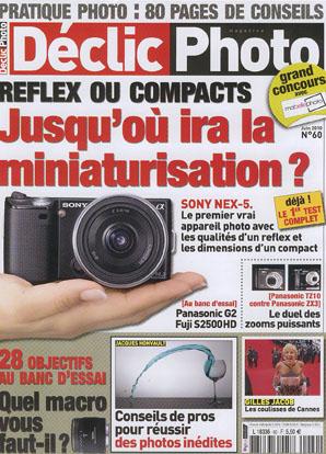 couverture declicphoto juin2010 mabellephoto.com s'affiche dans la presse