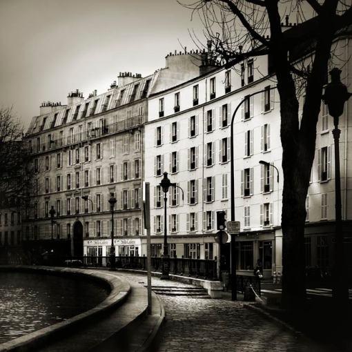 Le long du canal par Marie-Claude Strausz