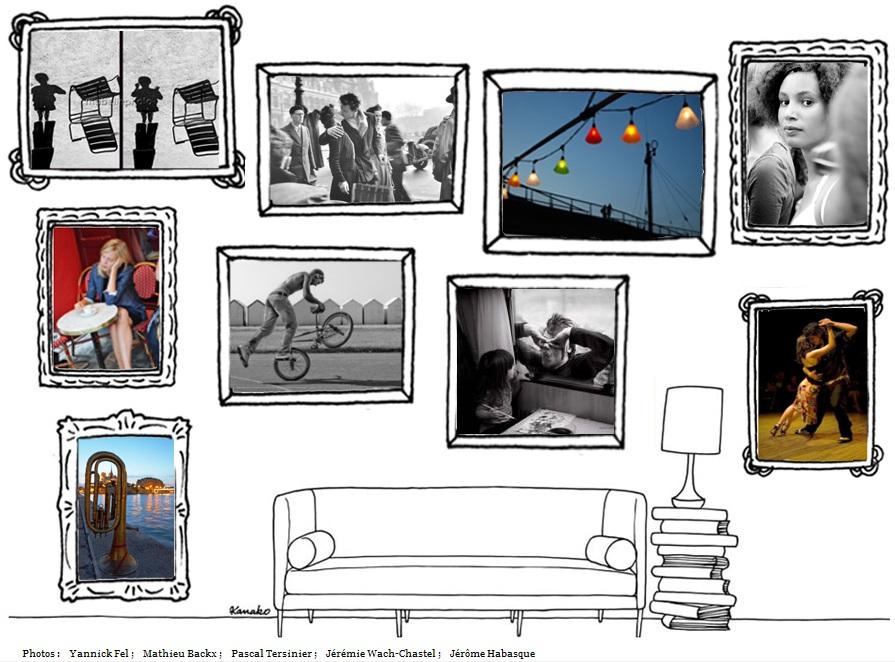 """mur mlp Concours Photo : """"Paris en août"""" avec My Little Paris jusqu'au 31 août 2010"""