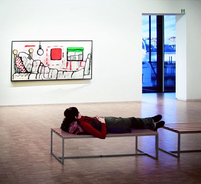 """sidney guillemin centre pompidou aout2010 Découvrez les gagnants du concours photos """"Paris en août"""""""